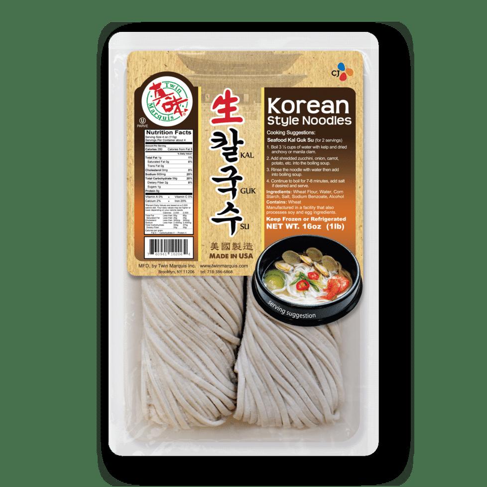 Kalguksu Korean Style Noodles