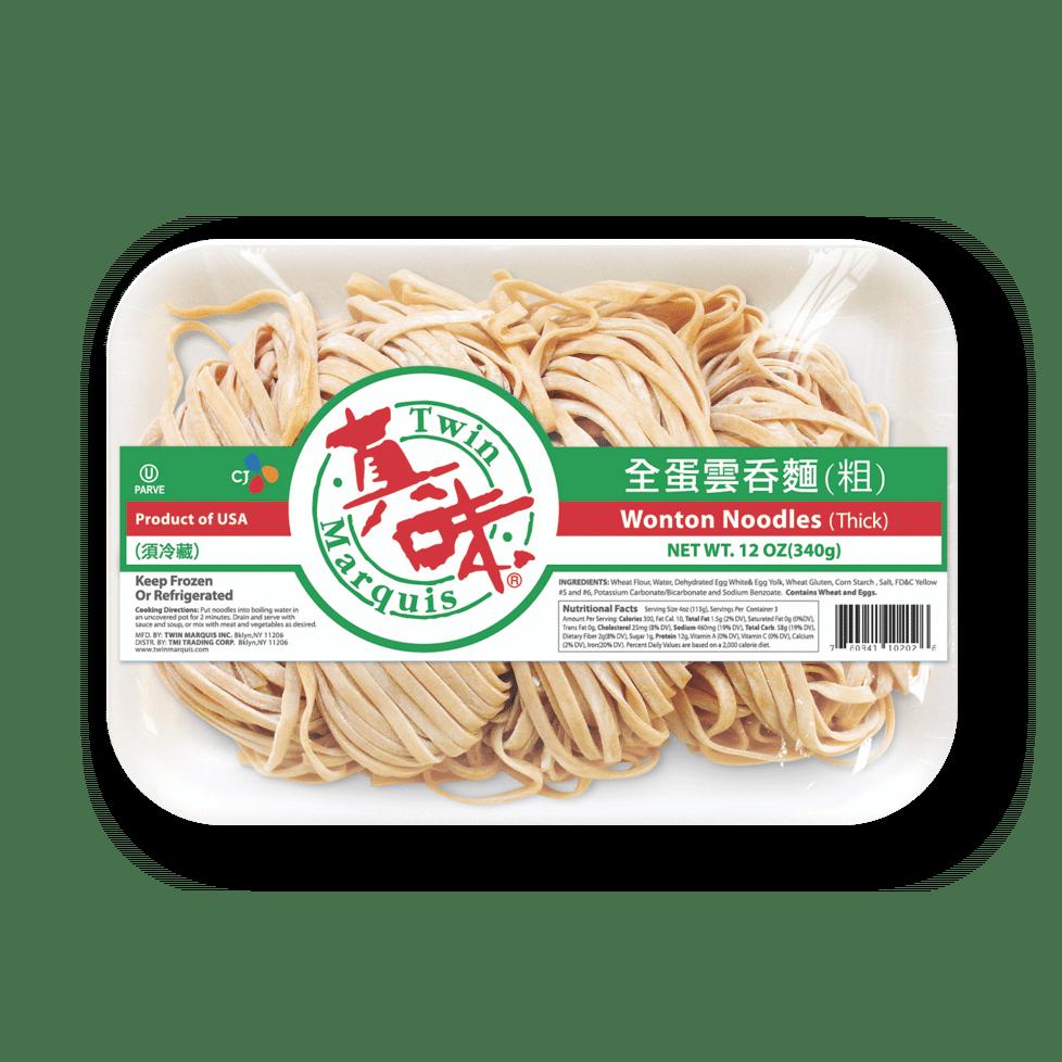 Wonton Noodles Thick