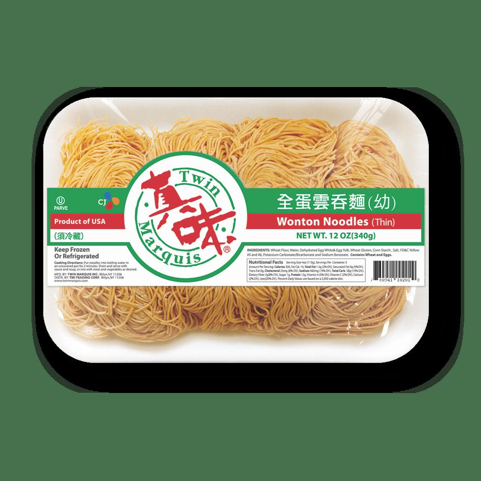 Wonton Noodles Thin