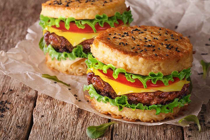 Ramen Burger 1