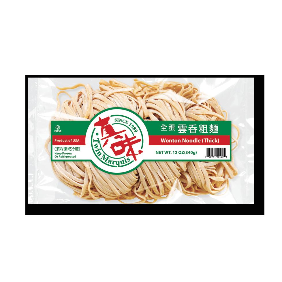 Wonton Noodles Thick 1