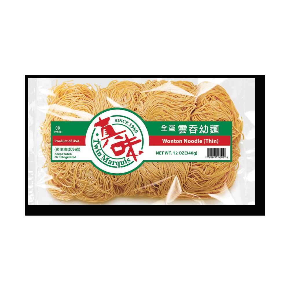 Wonton Noodles Thin 1