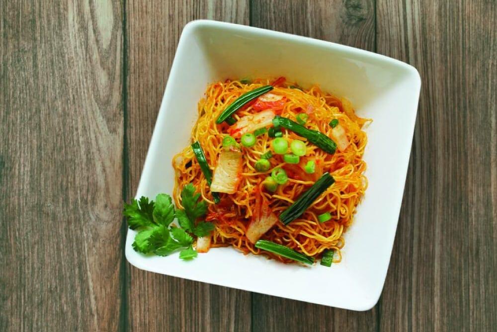 Kimchi Fried Noodle 1