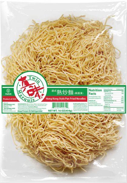 港式熟炒麵(两面黄)