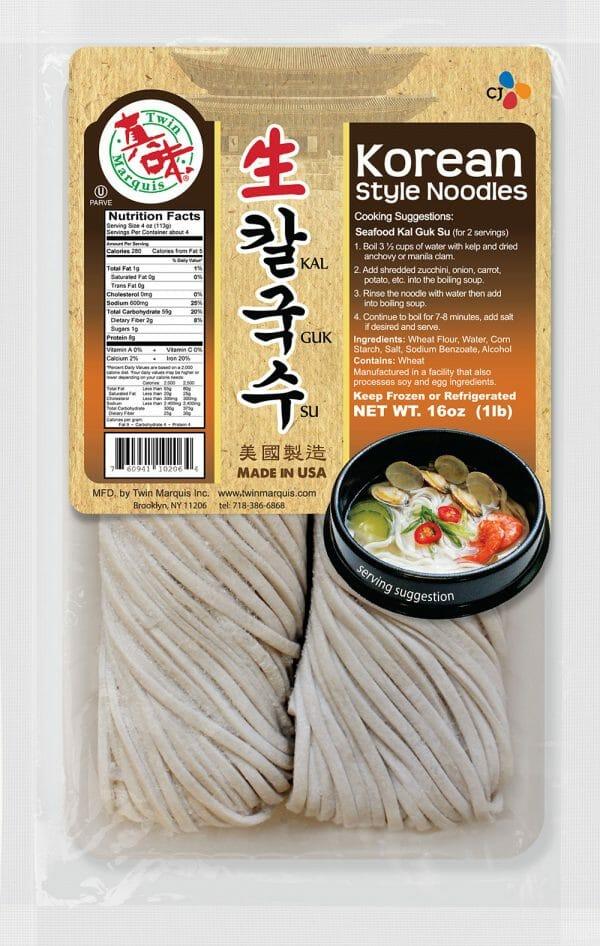 韓國生麵 (韓式刀切麵)