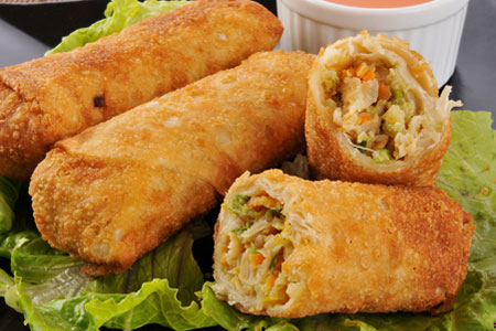 Corned Beef & Cabbage Egg Roll