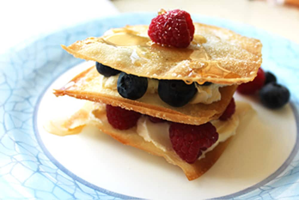 Fruit Tart Napoleon