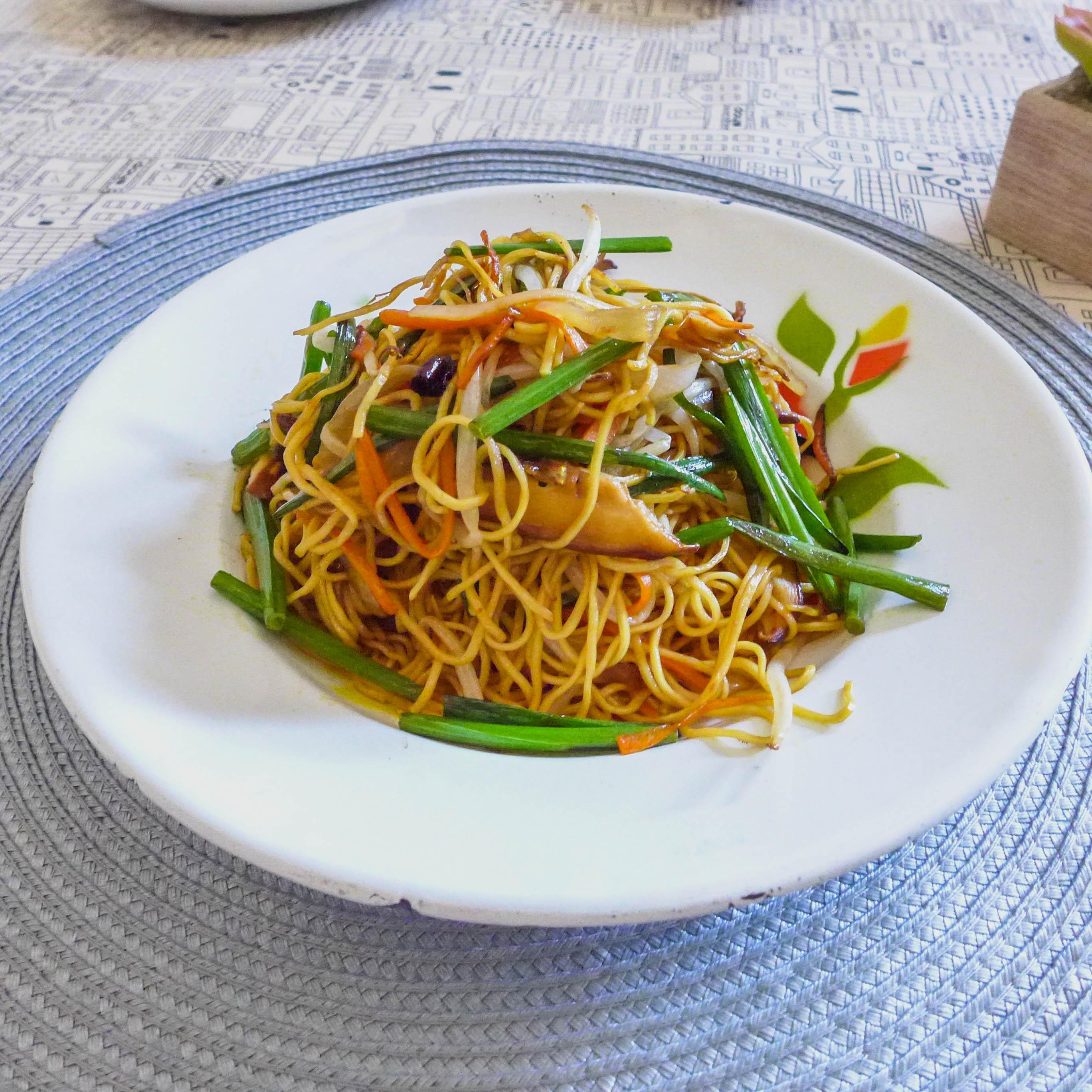 Vegetable Pan-Fried Noodles
