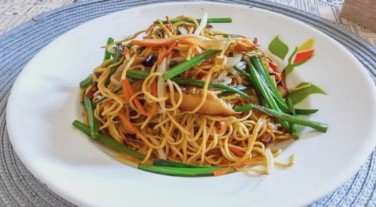 Vegetable Pan-Fried Noodles